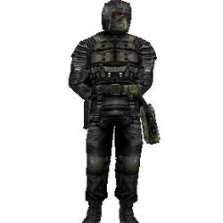 Модифицированный бронекостюм