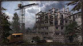 Загрузочный экран из «S.T.A.L.K.E.R.: Чистое Небо»