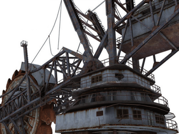 Kim Pripyat und bucket-wheel excavator 2.png