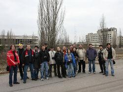Stalker-team in Pripyat 2008.jpg