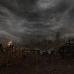 Сгоревший хутор