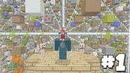 Minecraft Xbox - Sky Grid - The Rescue Plan