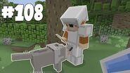 Minecraft Xbox - Slippery Survival - Lee's New Dog!! -108-