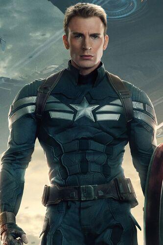 as Captain America