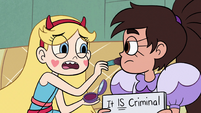 S2E36 Star Butterfly 'really look up to you'
