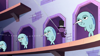 S2E22 Spider With a Top Hat blows bubbles at narwhals