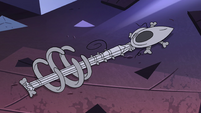 S4E24 Eclipsa's bone guitar on the floor