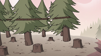 S3E38 Chopped trees pulled away from stumps
