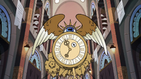 S3E28 Giant clock in the Royal Archive