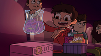 S2E14 Marco tells Glossaryck to pass candy to Star