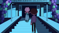 S2E27 Marco follows Jackie into the school