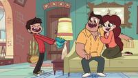 S1E9 Marco gives his parents a present