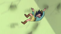 S3E23 Janna Ordonia falling out of the air