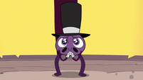 S3E26 Spider With a Top Hat smiling at his friends