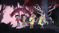 S1E9 Centipede monster in the forest