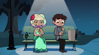 S2E27 Marco Diaz and Jackie Lynn Thomas stirring cereal