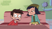 S3E23 Marco Diaz waking up on the floor
