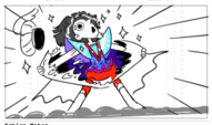 Face the Music Ballad of Star Butterfly storyboard 3