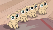 S3E14 The laser puppies sit down