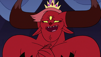S3E10 Queen Wrathmelior growling with joy