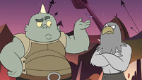 S3E2 Monsters confused by Queen Moon's entrance
