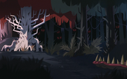 Diaz Family Vacation background - Forest of Death