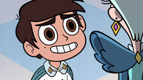 S3E8 Marco Diaz saying goodbye to Queen Butterfly