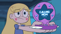 S4E29 Star's compact phone calls Moon Butterfly