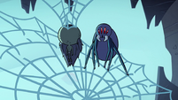 S2E2 Giant spider standing on rear legs