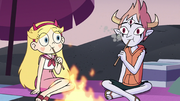 S3E19 Star and Tom eating their marshmallows.png
