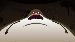 Click here to view the image gallery for Hungry Larry (character).