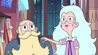 S3E25 King and Queen Butterfly looking somber