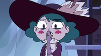 S4E13 Eclipsa disgusted by Marco's sweat
