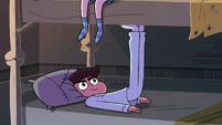 S4E1 Marco kicks under Star's mattress