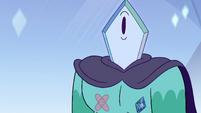 S4E4 Rhombulus' left nipple crystal cracks