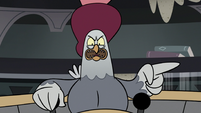 S3E36 Rich Pigeon 'no, keep looking!'