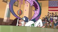 S1E5 Monster arm makes Marco hit himself