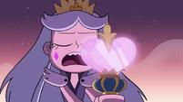 S3E2 Queen Moon casting her darkest spell