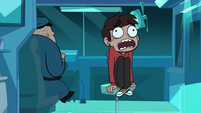 S1E10 Marco sitting in a swivel chair