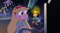 S2E27 Star Butterfly looking behind toward Janna
