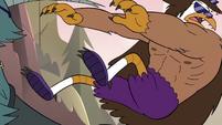 S3E38 Talon Raventalon falls off his dragoncycle