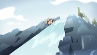 S2E10 King Butterfly leaps to the top of a waterfall