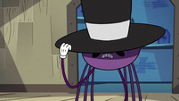 S2E22 Spider With a Top Hat hiding his tears