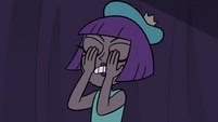 S3E16 Princess Gwendolyn covering her eyes