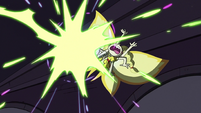 S3E38 Star gets struck by Meteora's soul beams