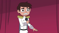 S4E24 Marco Diaz takes out a microphone