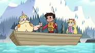 S2E10 Marco gives fishing rod to King Butterfly