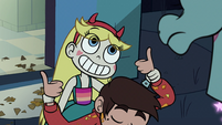 S1e2 marco thumbs up