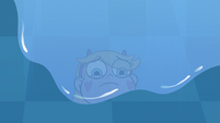 S3E9 Star Butterfly looking at the puddle of water