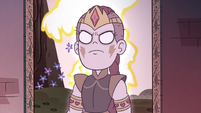 S4E36 Solaria's ghost glaring at Star Butterfly